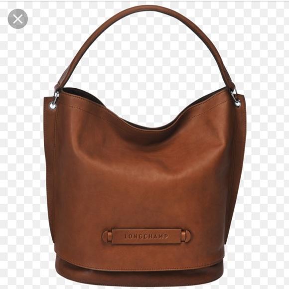 76f7b3806df Longchamp Bags   3d Leather Hobo Bag   Poshmark